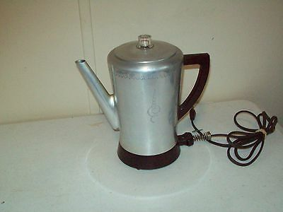 West Bend Coffee Maker Percolator : Vintage West Bend Flavo-Matic 8 Cup Electric Automatic Coffee Percolator