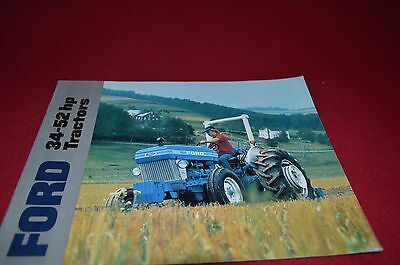 Ford 4610 4110 3610 2610 Tractor Dealer's Brochure YABE7