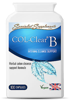 Col-clear Version B - Colon Cleaner - Colonic Irrigation Specialist Supplements