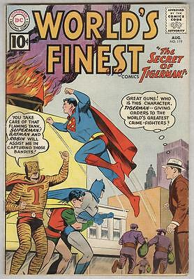World's Finest #119 August 1961 VG Tigerman