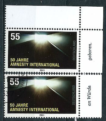 Germany stamps FDR 2011.5 2011 The 50th Anniversary of Amnesty International