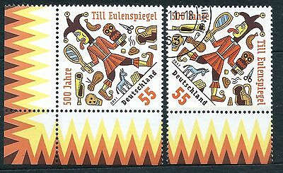 Germany stamps FDR 2011.6 2011 The 500th Anniversary of Till Eulenspiegel