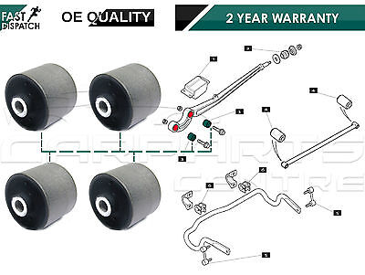 For Land Rover Range Rover Ii 2 P38 Front Pair Of Radius Arm To Axle Bush Bushes