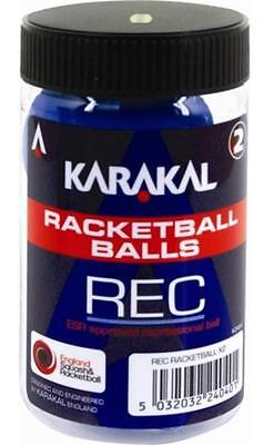 Karakal Racketballs Squash Court Training Tube Of 2 Ball