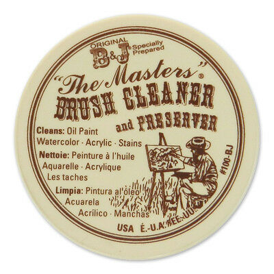 Original B&J The Masters Paint Brush Cleaner & Preserver - 30 ml / 1 Oz