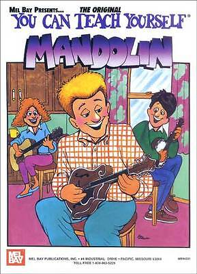 You Can Teach Yourself Mandolin Book + Cd Set New