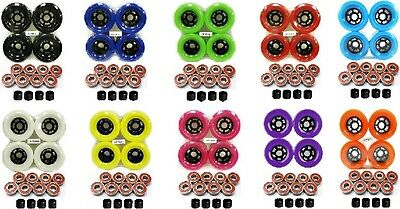 Brand New Longboard Wheel 83mm + Abec 9 Bearing + Spacer