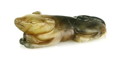 Exceptionally Fine Early Chinese Jade Hound