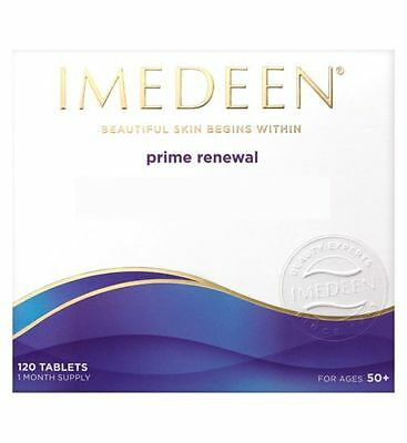 IMEDEEN PRIME RENEWAL, 120 Tablets - 1 Months Supply NEW BEST BEFORE 02-2018