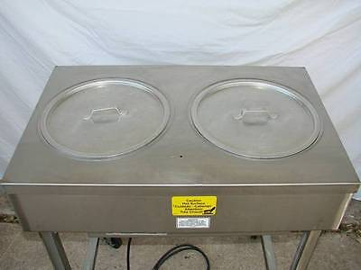 Belshaw Steam Table Heat & Ice model H&I-2 Icing Doughnut Icer Two Hole