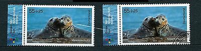 Germany stamps FDR 2010.10 Marine Protection - Seals
