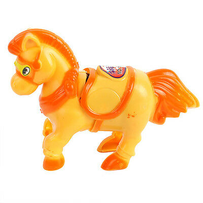 Child Baby Kids Toddler Plastic Wind-up Moving Horse Clockwork Funny Toys Gifts