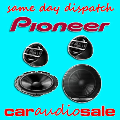 "PIONEER TS-G173Ci 6.5"" INCH 16.5CM 280 WATT 2 WAY COMPONENT CAR DOOR SPEAKERS"