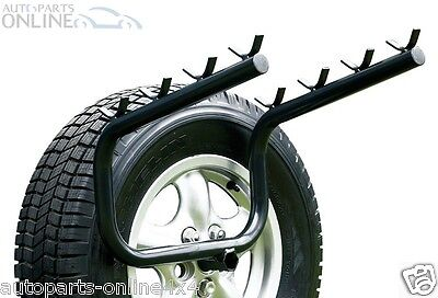 Land Rover Discovery 2 Bike Rack Spare Wheel Mounted 4 Bicycle Carrier - Da4119