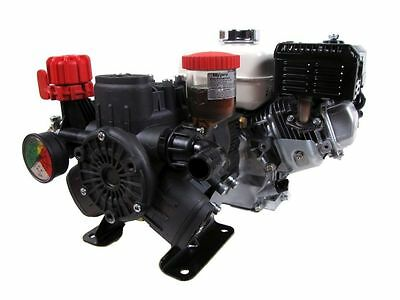Hypro D403 Diaphragm Pump and Honda GX160QH Engine Assembly