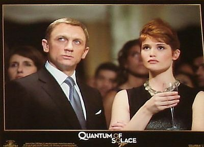 James Bond 007 - QUANTUM OF SOLACE - 11x14 US Lobby Cards Set of 12 Daniel Craig