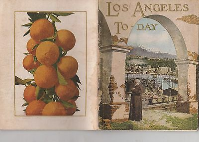 Los Angeles To-Day 1923 Illustrated Booklet
