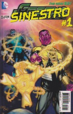 Green Lantern #23.4 3D Cover (Vol 5) (Sinestro #1) New 52