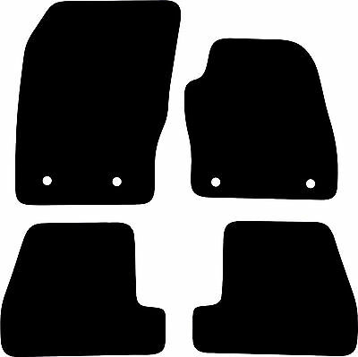 Ford Focus (2015-date) New Black Heavy Duty Rubber Tailored Car Floor Mats