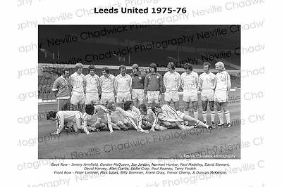 Leeds Team Photos - 1975-1981 Various