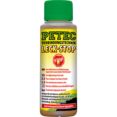 Petec Leck-Stop 150 ml Dichtmasse Leck-Up Ölverlust-Stop