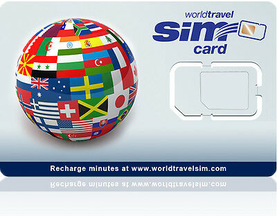 Canada SIM card - Also works in 220 countries - Includes $20.00 Credit