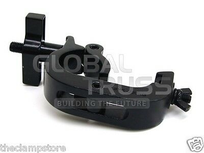 "Global Truss Trigger Clamp Black Hook Style fits 2""(50mm) Truss 550 lb rating"