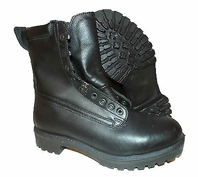 Army Pro Boots British Army Surplus Goretex Black Leather Military Combat Boots