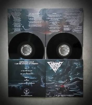 CHTHONIC CULT - I Am The Scourge of Eternity  Gatefold LP