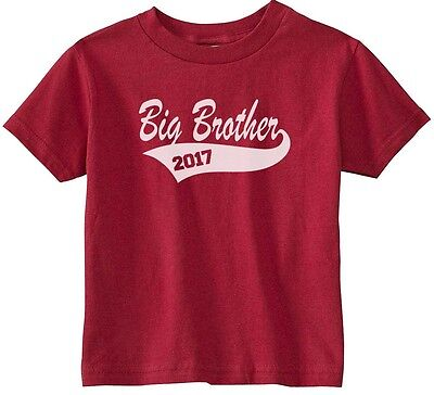 Lil Shirts Big Brother 2017 Little Boys Youth and Toddler Shirt