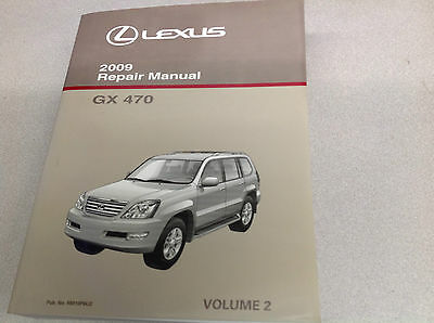 2009 Lexus GX470 GX 470 Service Shop Repair Manual Volume 2 ONLY OEM NEW