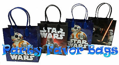 18 Pc Star Wars Party Favor Bags Storm Toopers Candy Treat Birthday Toy Gift Bag