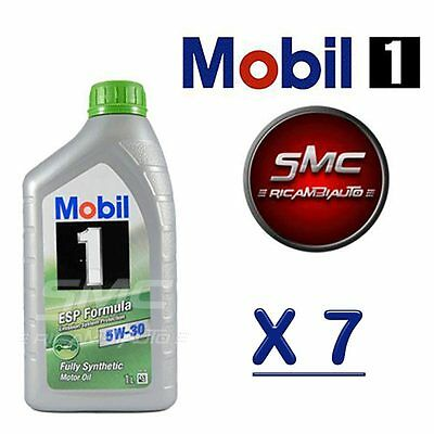 7 Litri Olio Mobil 1 Esp 5W30 7 Lt Synthese Technology Longlife