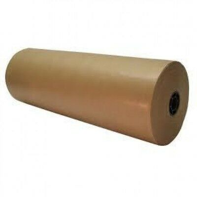 Waxed Kraft Strong Rolls Of Brown Packing/Wrapping Paper 65gsm 900mm x 100m