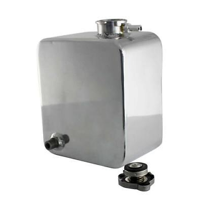 Universal 2L Mirror Polished Alloy Water Coolant Header Overflow Expansion Tank