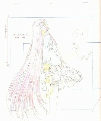 Anime Genga not Cel Chobits 2 pages #61