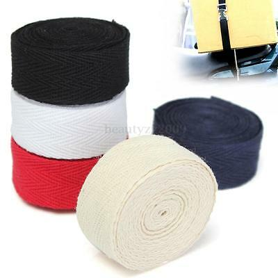20mmx2m Herringbone Twill Cotton Webbing Tape Strap For Sewing Bunting DIY Carft