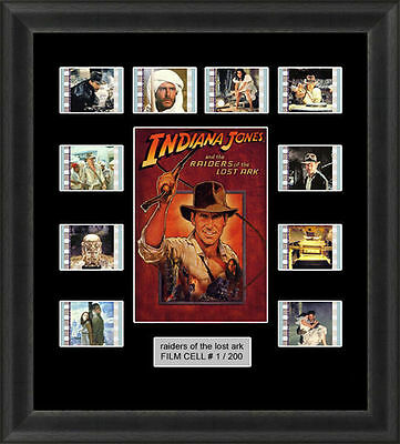 Indiana Jones Raiders Of The Lost Ark Framed Film Cell