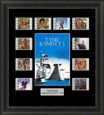 Time Bandits Mounted Framed 35Mm Film Cell Memorabilia Sean Connery