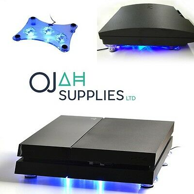 USB LED Design Cooler Cooling Fan Pad mini controller Stand for PS4 Playstation