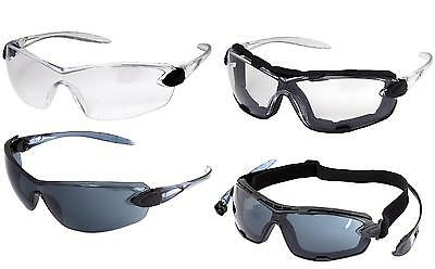 UCI RIGA Safety Spectacles Glasses Foam Seal & Strap Interchangable