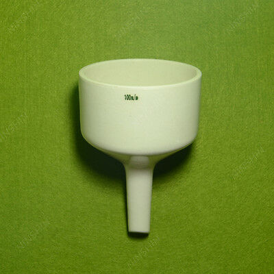 Porcelain Buchner Funnel,100mm,Use For Vacuum Suction filting,lab funnel