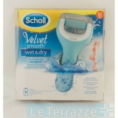 VELVET smooth wet & dry ricaricabile pedicure dr scholl