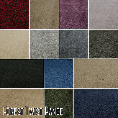 NEW! High Quality Twist Pile Carpet, Felt Back, Hard Wearing, Durable CLEARANCE
