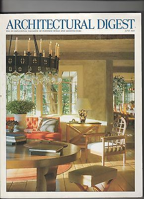 Michael J. Fox  & Tracy Pollan Architectural Digest Mag June 2000