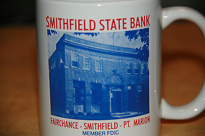 Collectable Smithfield State Bank Mug Smithfield Pa...photo Of The Bank