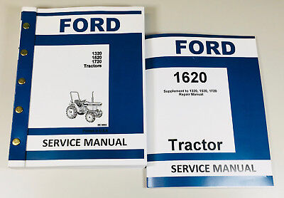 Ford 1620 Tractor Service Repair Shop Manual Technical Factory Workshop Complete