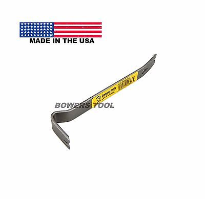 Enderes Tool 5-1/4in. D37 Mico Pry Bar Upholstery Tack Nail & Staple Puller USA