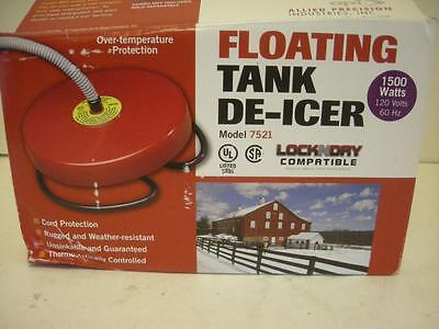 NEW Allied Precision Industries API De-Icer 7521 1500W Float Water Pond Heater