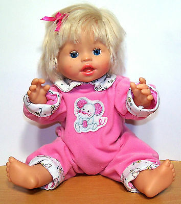 2007 Fisher-Price Little Mommy Baby Ah-Choo Doll - Talks, Sneezes, Coughs - VGC